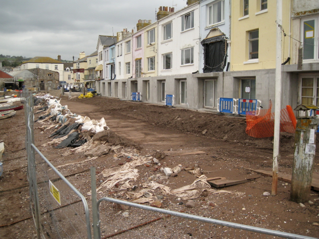 Flood protection works, Teign View Place