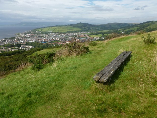 Viewpoint above Largs