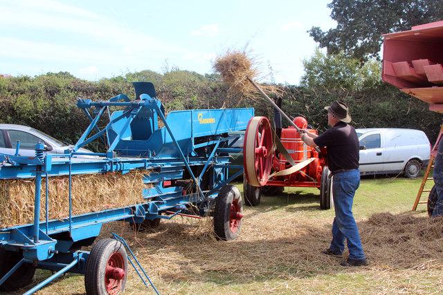 Traditional hay making, Laughton Show