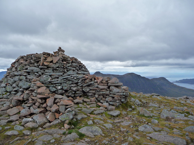 Summit of Maol Chean-dearg
