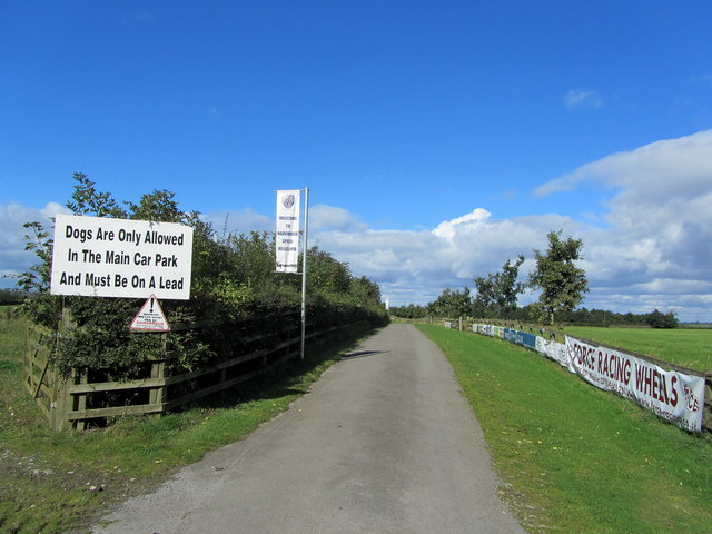 Entrance to Harewood Hill Climb Course