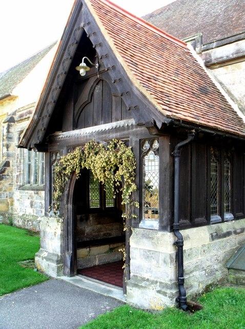 Porch, St. Nicholas, Sandhurst, Kent