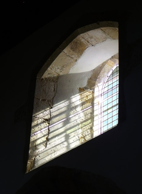 Clerestory window, St. Nicholas, Sandhurst, Kent