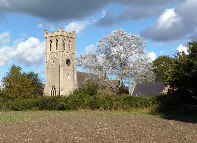 Church Tower and Tree, Little Milton