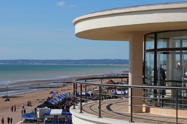 De La Warr Pavilion balcony