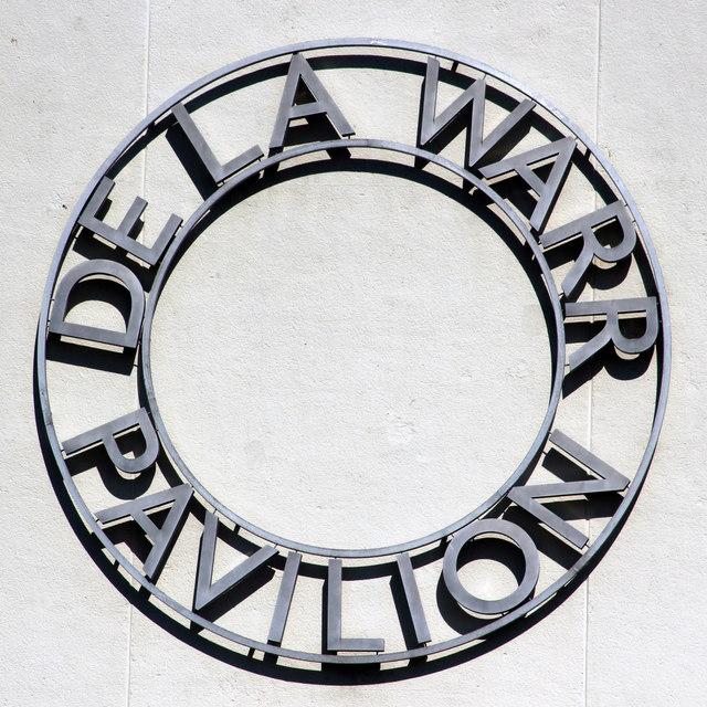 De La Warr Pavilion sign