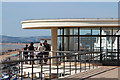 TQ7407 : De La Warr Pavilion roof and balcony by Oast House Archive