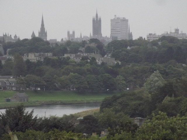 Aberdeen from Tollohill