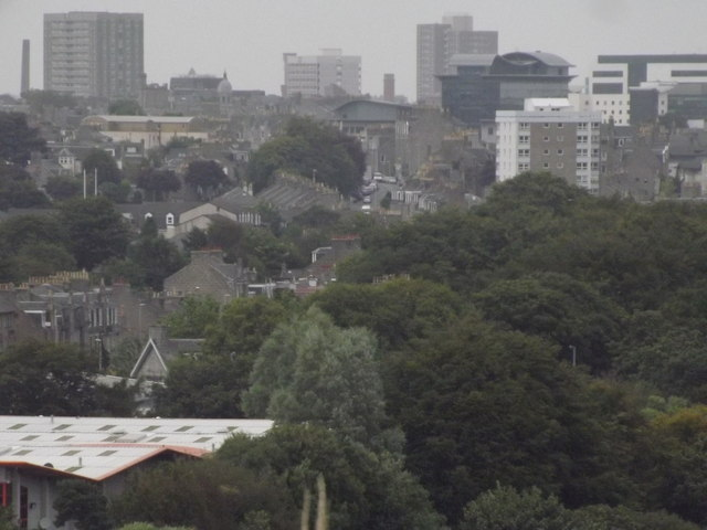 Aberdeen City Skyline