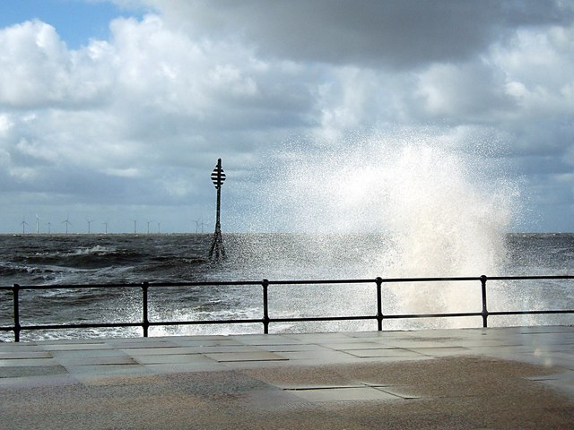 High tide at Hall Road