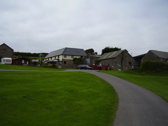 Higher Rew farm camp site