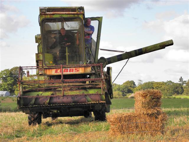 Corn harvester, Dergmoney Upper