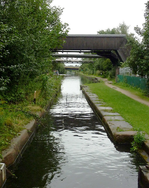 Nechells Shallow Lock near Star City, Birmingham