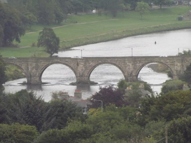 Bridge of Dee from Tollohill