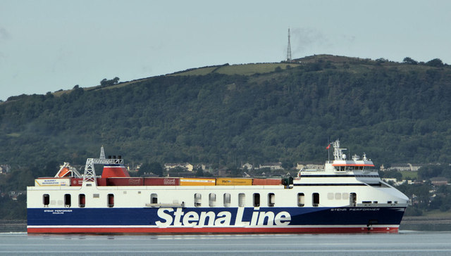 "The ""Stena Performer"", Belfast Lough"