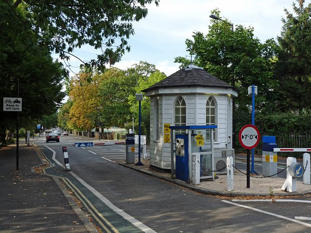 Dulwich Tollgate from the north