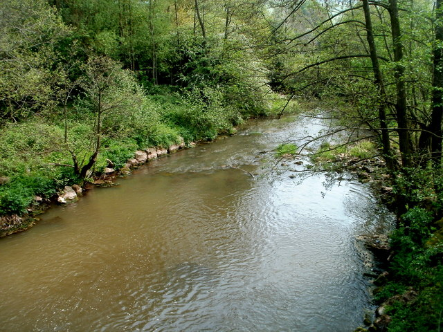 River Trothy viewed from Troddi Bridge