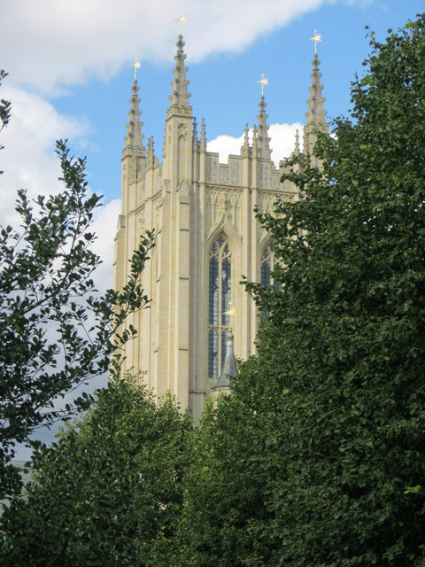 Tower of Bury St Edmunds Cathedral