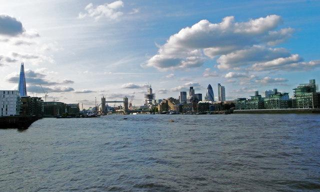 Tower Bridge and environs