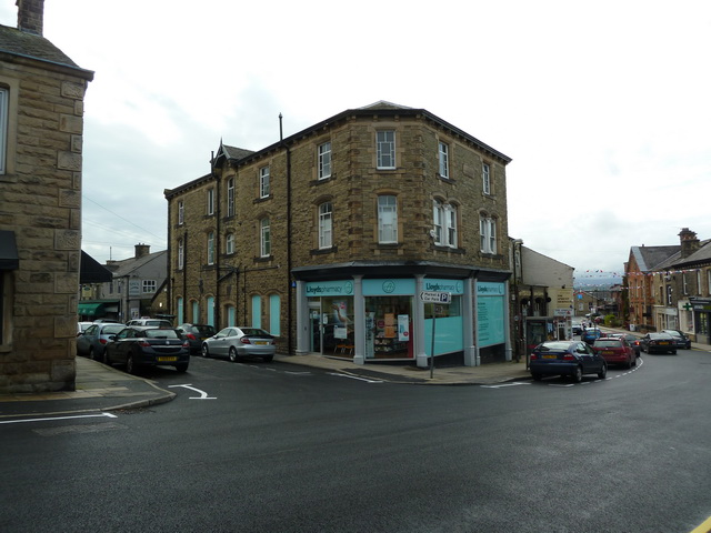 Lloyds Pharmacy, King street, Clitheroe