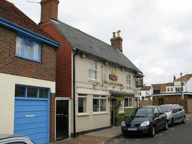 The Coal Exchange pub on South Street, Emsworth