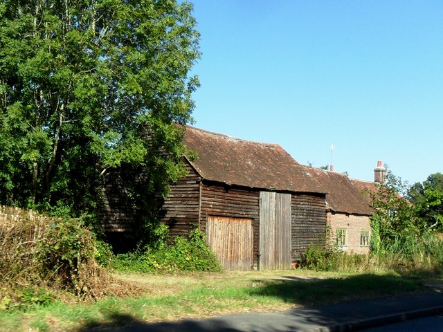 Wooden barn, Field Green, Kent