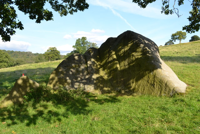 Chatsworth Estate - The Jubilee Rock
