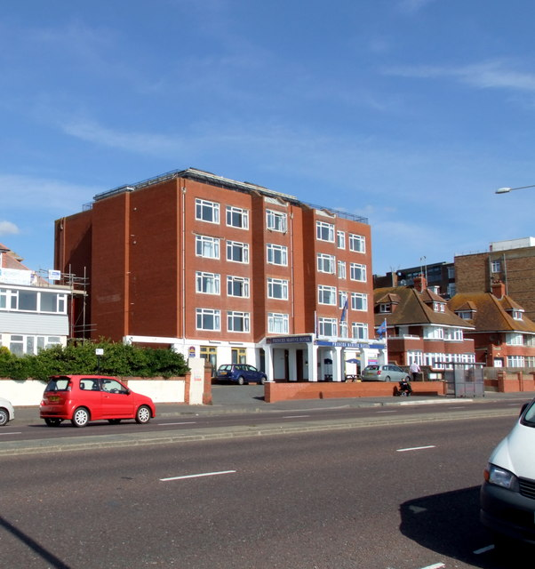 Princes Marine Hotel, Kingsway, Hove.