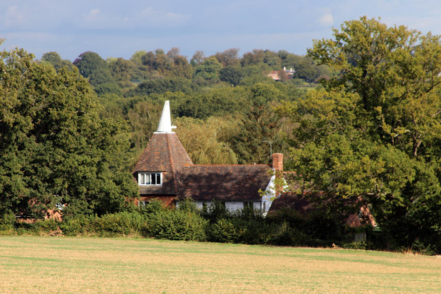 Friezley Oast, Friezley Lane, Wilsey Green