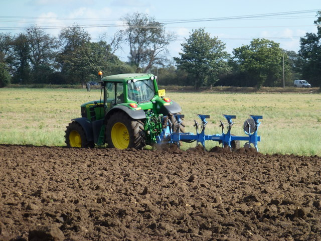 Ploughing in The Fens