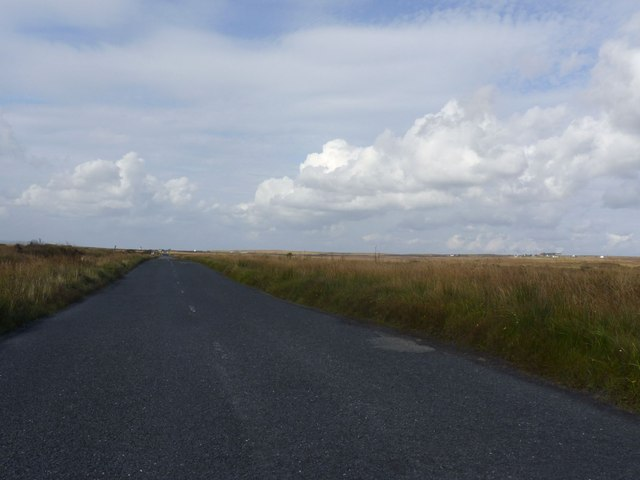A846 (or 'Low Road') between Bowmore and Port Ellen, Islay