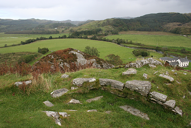 Summit of Dunadd