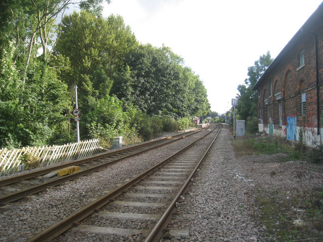 Looking towards Cottingham station