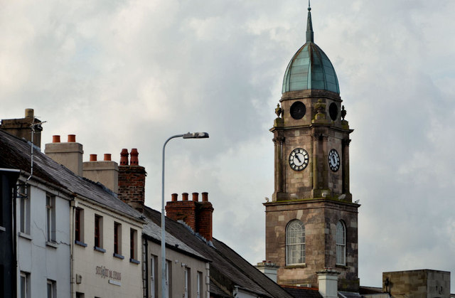 Clock tower, Lisburn