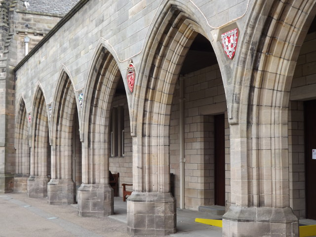 Elphinstone Hall Arches