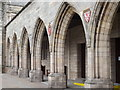 NJ9408 : Elphinstone Hall Arches by Colin Smith