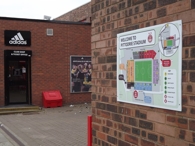 Welcome to Pittodrie Stadium