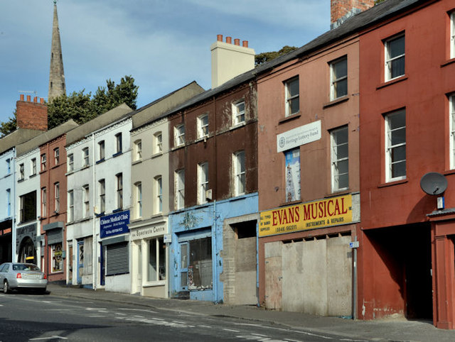 Vacant shops, Lisburn (2)