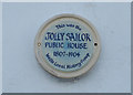 Photo of Jolly Sailor, Wells-by-the-Sea white plaque