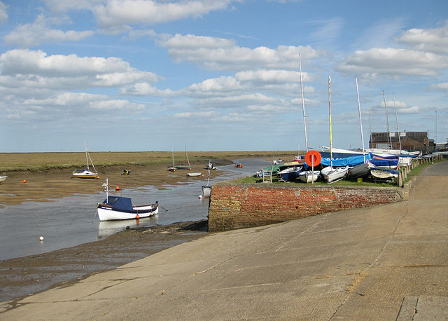 Slipway, Wells harbour