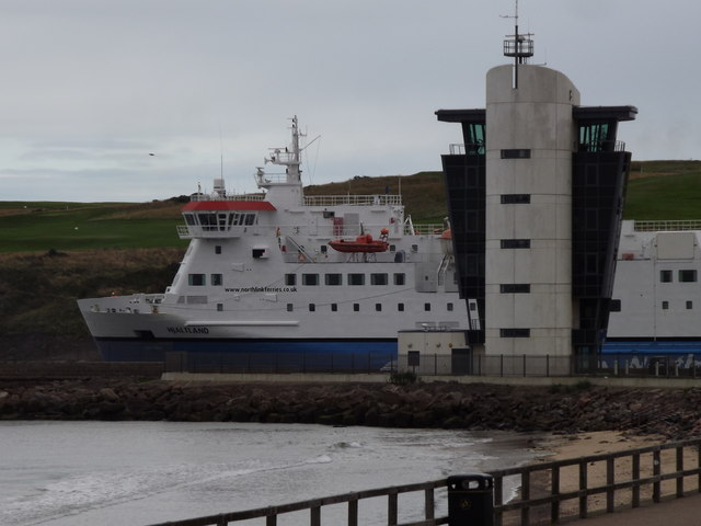 North Boat off to Shetland