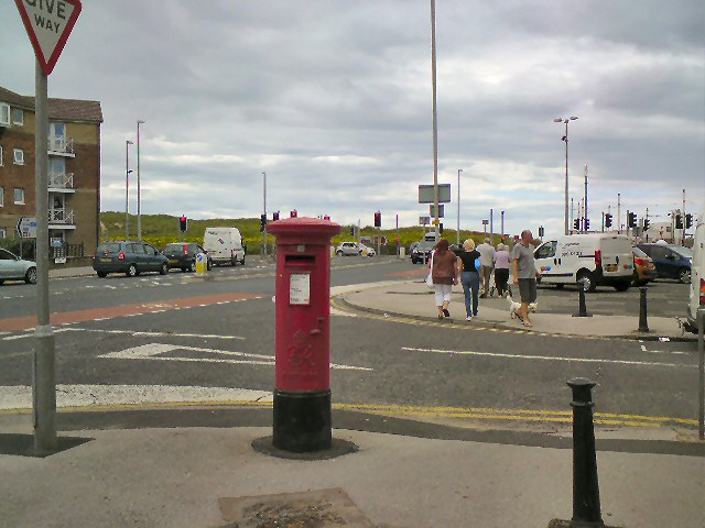 Squire's Gate Postbox