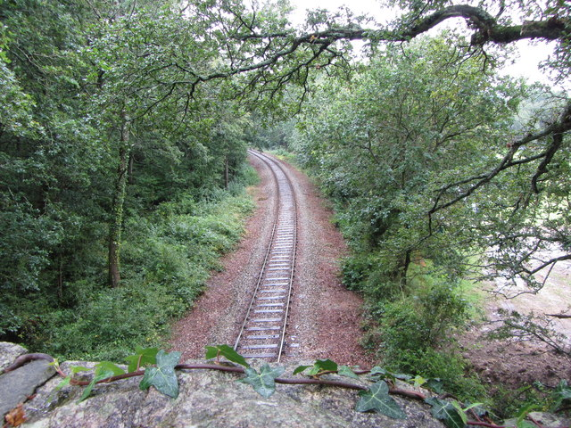 Heathfield branch line near Ventiford, looking south