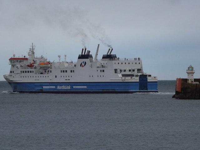 Northlink on the Shetland Run