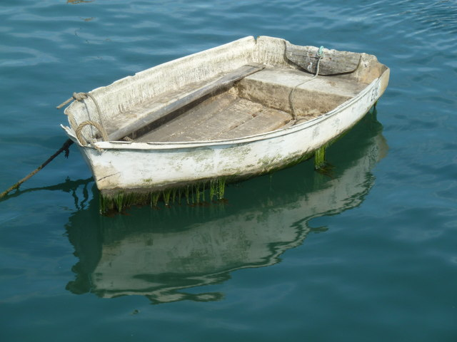 Lyme Regis - scruffy boat