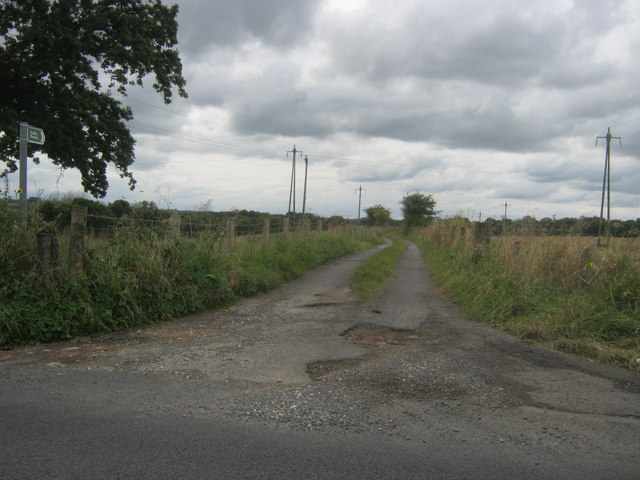 Byway off Whitworth Lane