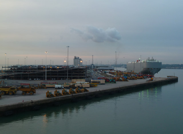 Dawn - Southampton Eastern Docks
