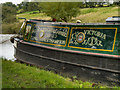 SJ9687 : Narrowboat Victoria by David Dixon