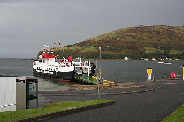 'Loch Tarbert' at Lochranza