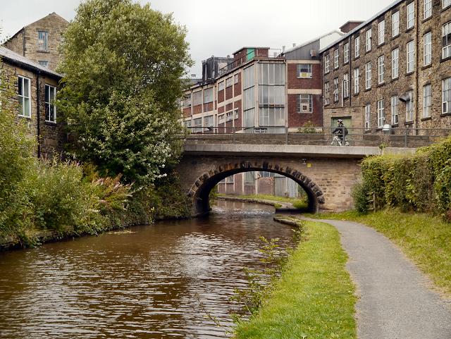 Peak Forest Canal, Bridge#28, New Mills